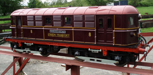 1920s London Transport Electric Loco